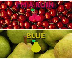 I'M A RUIN & BLUE