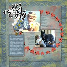 """Layout created for Round 3 of the Traditional-Style Layout Contest at Digital Scrapbooking Studio. The kit I used is Aimee Harrison Designs """"Celebration of You"""" page kit. Fabulous kit for lots of super layouts."""