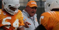Stripling not thrilled with Vols' D-line against Bama during game on Saturday,  10/25/14.