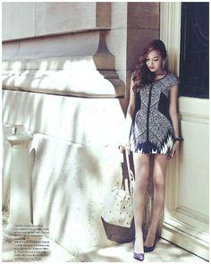 Girls Generations Jessica graces Vogue Girl Magazine ~ Latest K-pop News - K-pop News | Daily K Pop News