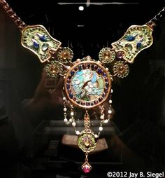 Tiffany Peacock Necklace  (this is one of my favorite things to visit in the Morse Museum in Winter Park,Fl)