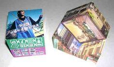 Cubes, Triangle, Advertising, Magic, Baseball Cards
