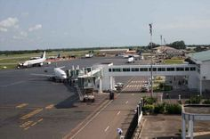 Aeroport de Pointe-Noire Antonio Agostinho Neto International Airport  is an airport located in Pointe-Noire, Republic of the Congo. It is one of two international airports in the country, the other being Brazzaville Maya-Maya Airport.
