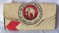 Fair Trade Cambodia. Eco-Friendly Elephant Cement Lady Purse, ethically handmade by disabled home based workers. www.craftworkscambodia.com