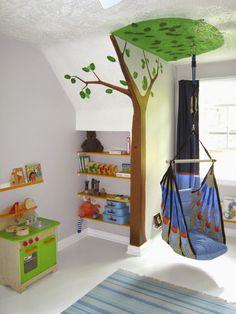 Design An Eco-Friendly Playroom / little island studios #KidsRoom #Playroom #Moms