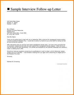 Recommendation request letter you should try to get to know the job interview follow up email sample spiritdancerdesigns Image collections