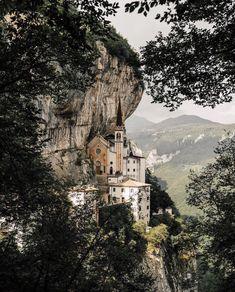 Madonna Della Corona, Spiazzi, Italy #visitingitaly