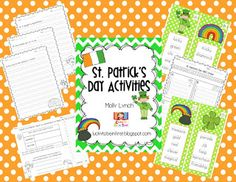 Lucky to Be in First! St. Patrick's Day Unit {FREEBIE}