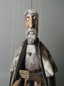 Marionette Puppet by Jiri Bares