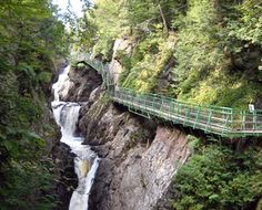 High Falls Gorge, Ausable  River, NY - far northern part of Hudson River Valley