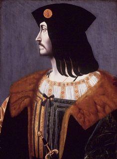 Bernardino de'Conti Italian, Milanese School, documented 1494-1522 Portrait of Catellano Trivulzio 1505. Brooklyn Museum