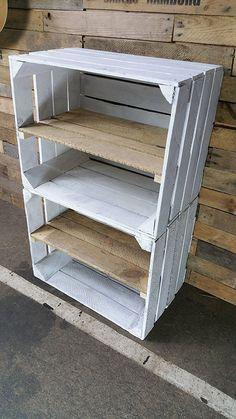 Plus de 1000 id es propos de shopping d co sur pinterest - Ou trouver des caisse en bois ...