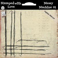 Stampeded With Love - Messy Machine 01