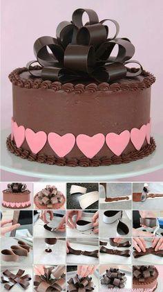Chocolate bow