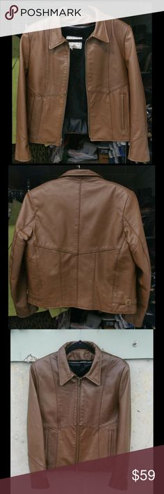 196e35623 58 Best Brown Leather Motorcycle Jacket images in 2019   Leather men ...