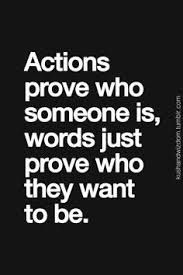 action show love not words - Google Search