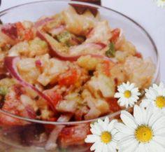 Recetas de Cocina al Estilo Hondureño de María: CEVICHE DE PESCADO