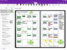 Digital planners for paper planner lovers who want to go paperless.