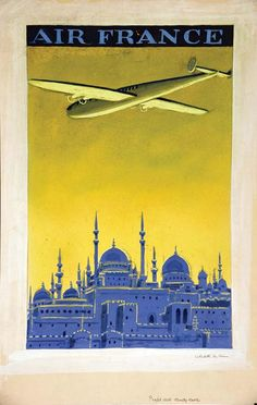 Air France - Citadelle du Caire - 1930's - (Sandy Hook) -