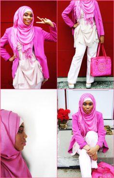A Hijabista's Fashion Statement : Aquila Style--> seriously rockin my colors!