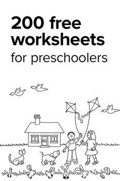 Boost your preschooler's learning power and get them ready for kindergarten with free worksheets in the core subjects!
