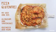 Dieses Mal wieder mit Videoanleitung auf Youtube, in meinem neuen Kanal. Aber nicht nur das, das glutenfreie Pizza-Rezept kommt ohne Fertigemehle aus und Du entscheidest, ob mit Hefe oder ohne :)