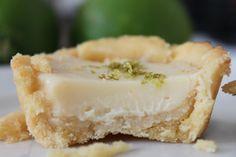 Receita: Mini tortinhas de limão ~ Entretulipas