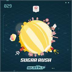 """Look at my beautiful planet """"Sugar Rush""""! http://galaxy.walkrgame.com/9h7ztZpwaBc/1"""