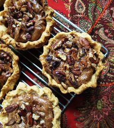 Vegan Mini Pecan Pies