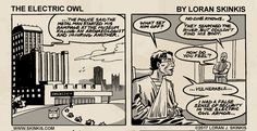 The Electric Owl on The Duck : Electric Owl #3 - Page 24B