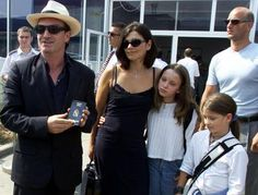 ~Bono treated his family to a round-the-world holy pilgrimage U2 frontman Bono has thanked his wife and children for looking after.