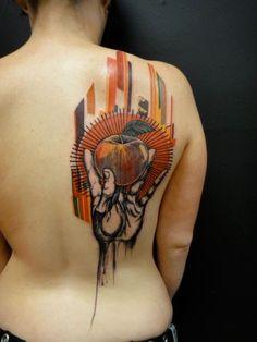 Xoïl, Needles Side Tattoo.