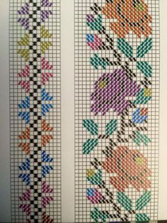 123 Cross Stitch, Cross Stitch Bookmarks, Cross Stitch Borders, Cross Stitch Flowers, Cross Stitch Charts, Cross Stitch Designs, Cross Stitching, Cross Stitch Embroidery, Embroidery Patterns