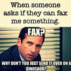 When someone still doesn't understand email: This me at my job