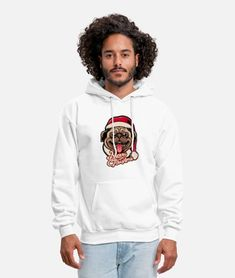 Merry xmas - merry Christmas - Merry - dog lover Men's Hoodie   Spreadshirt Sweat Shirt, Sport T Shirt, Crew Neck Sweatshirt, Hooded Sweatshirts, Hoodies, Be A Nice Human, Comedy Central, South Park, Never Give Up