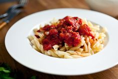 Pungent Tomato Sauce With Capers and Vinegar by Martha Rose Shulman