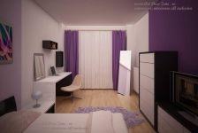 Design apartament mic in culori calde Divider, Art Deco, Room, House, Furniture, Ideas, Home Decor, Bedroom, Decoration Home