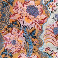 18th century silk textile illustration (via @marybethbergtoldmulcahy - (@lizcasella)