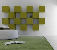 Modern Living Room Shelving Ideas from Diotti