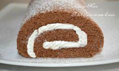 Rotolo+al+cacao+con+crema+di+ricotta