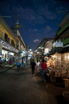 Downtown Tapachula, Chiapas, Mexico- I feel like I'm there all over again. This shows a lot of what I saw.