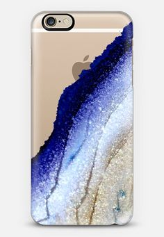 FLAWLESS ROYAL BLUE & FAUX GOLD by Monika Strigel iPhone 6 case by Monika Strigel   Casetify
