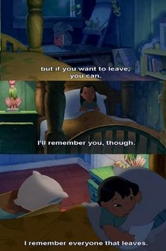 Kids movies are sooo sad and thought provoking