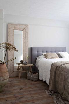 Landelijke slaapkamer Dream Bedroom, Home Bedroom, Master Bedroom, Bedroom Decor, Interior Design Living Room, Living Room Decor, Beautiful Bedrooms, Furniture, Home Decor