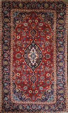 Persian Hand-Knotted Ardakan Rug in Wool (Cotton Foundation) - Ref: 1884 - 2.45m x 1.45m