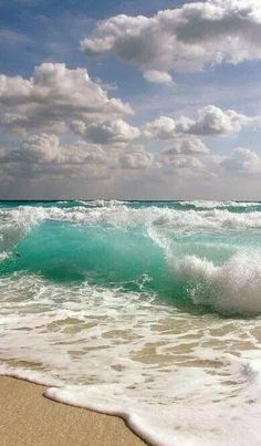 Ocean Waves and Surf Sand, white water, shore break No Wave, Image Nature, All Nature, Human Nature, Ocean Beach, Ocean Waves, Beach Waves, The Ocean, Miami Beach