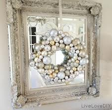 Christmas Decor for mirror or front door.