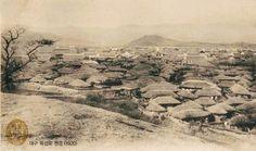 Daegu, View from Dongsan-dong of Bukseong-ro (North Wall Street) 1920 대구 동산동에서 본  북성로 웡경 1920 ④일제 강점기 우리 도시의 모습<대구(大邱)> : 네이버 블로그