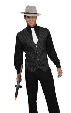 Men's Gangster Shirt, Vest And Tie, Black/White, One Size Costume Forum Novelties Inc.,http://www.amazon.com/dp/B002DMTHEI/ref=cm_sw_r_pi_dp_Chh7sb10J1CX7H2W