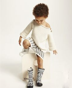 Bisgaard Sko and Ministrikk collaboration for Winter 2015 Knitting For Kids, Baby Knitting, Stylish Little Girls, Warm Winter Boots, Inspiration For Kids, Three Kids, Cool Kids, Knitwear, Kids Fashion